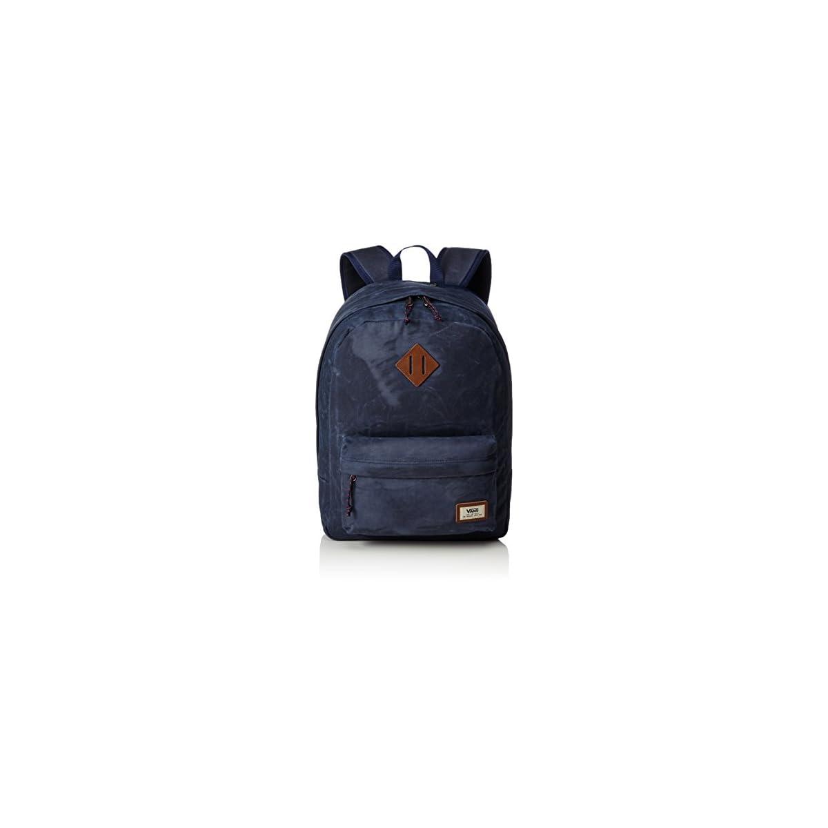 41onrYyOCtL. SS1200  - Vans Old Skool Plus Backpack Mochila, 44cm, 23L, Dress blaus Heather