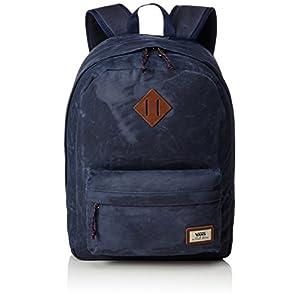 41onrYyOCtL. SS300  - Vans Old Skool Plus Backpack Mochila, 44cm, 23L, Dress blaus Heather