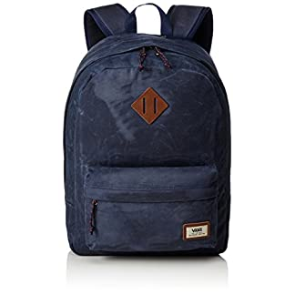 41onrYyOCtL. SS324  - Vans Old Skool Plus Backpack Mochila, 44 cm, 23 L, Dress blaus Heather
