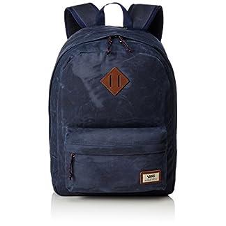 41onrYyOCtL. SS324  - Vans Old Skool Plus Backpack Mochila, 44cm, 23L, Dress blaus Heather