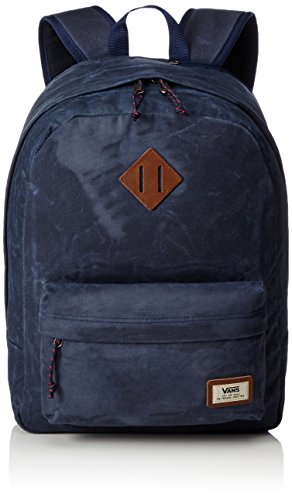 41onrYyOCtL - Vans Old Skool Plus Backpack Mochila, 44 cm, 23 L, Dress blaus Heather