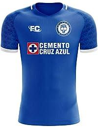Fans Culture 2018-2019 Cruz Azul Home Concept Football Soccer T-Shirt Camiseta