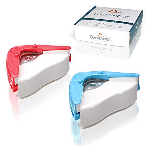 Amazy Set Cortadores para redondear bordes (2 piezas) – Juego de cortador con radio de 5 y 10mm