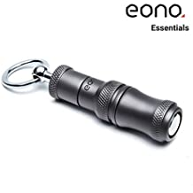 Eono Essentials Cigar Punch Cobre retráctil y atornilla 2 Cuchillas de tamaño Matt Gray Fumar Accesorios (7 mm y 9 mm) con Hebilla