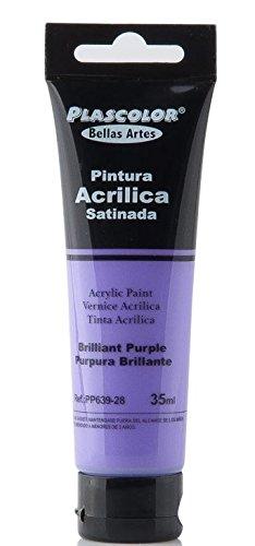 plascolor pp639-28-Acrylfarbe, 35ml, Purple Glänzend