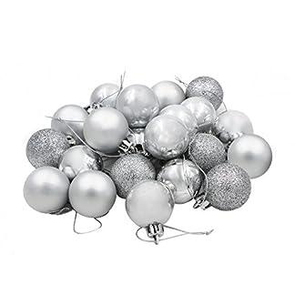 COOLWEST Bolas de Navidad combinadas para Colgantes Navidad Adornos árbol de Fiesta decoración de Navidad