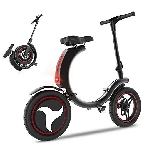 CHTOYS Bicicleta eléctrica Plegable/E-Bike/Scooter