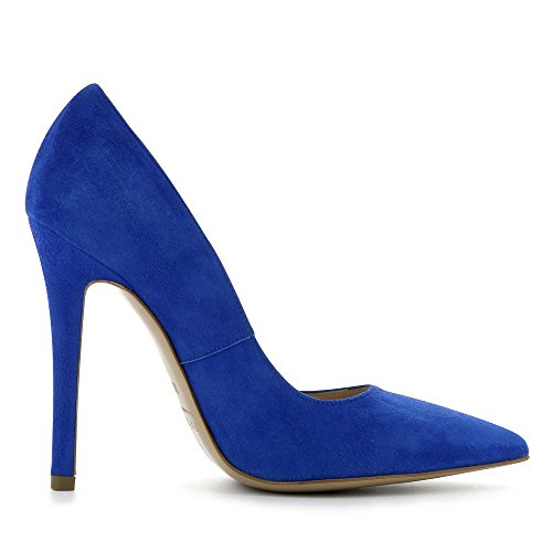Evita Shoes Lisa, Scarpe col tacco donna blu royal