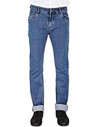 Flags Medium Blue Stretch Slim Fit Men's Jeans