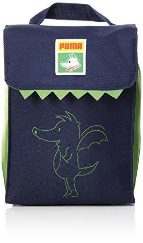 Puma Kinder Lunch Bag Brotbeutel Peacoat-Online Lime-Tabaluga Graphic 26 x 19 x 5 cm