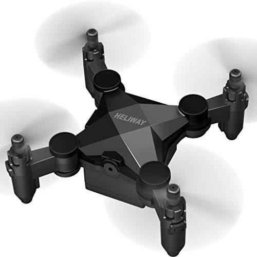 JXQ-N 901 Mini Drohne mit Kamera Faltbar Ferngesteuerte HD Kinder HD 120 ° Weitwinkel WiFi FPV 2.4GHz RC Quadcopter 4-Achsen-Gyro Helikopter 3D Flips Headless Modus für Anfänger