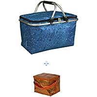 Isolierte Aislado Bolsa nevera B +–Nevera portátil ideal para la compra & Picnic Bolsa nevera 210x 170mm