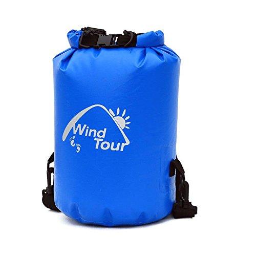 YYY-Drift borsa all'aperto spiaggia nuoto sacchetto sigillato ultra - luce incorporata sacchetto impermeabile con il sacchetto di sopravvivenza Fusi Blue