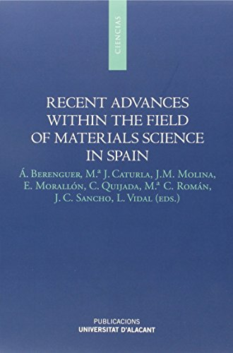 Recent Advances Within The Field Of Materiales Science In Sapin (Monografías)