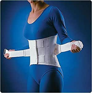"""Rolyan Dual Support Lumbo-Sacral Orthosis. - Extra Binder ONLY, Size: Large, 38""""-42"""" (97-107 cm) by Rolyn Prest"""
