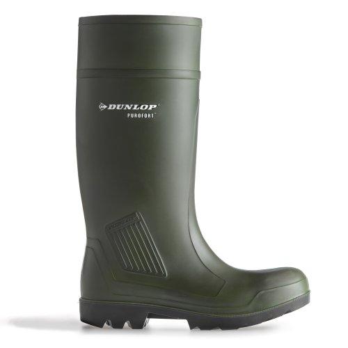 Stivali da lavoro Dunlop Purofort professionale completa sicurezza verde scuro S5 C462933 Verde(Grün)