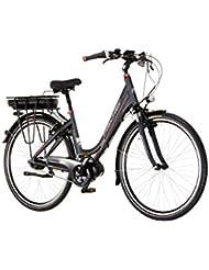 FISCHER FAHRRAEDER E-Bike City Damen Proline ECU1604, 28 Zoll, 7 Gang, Mittelmotor, 557 Wh 71,12 cm (28 Zoll)