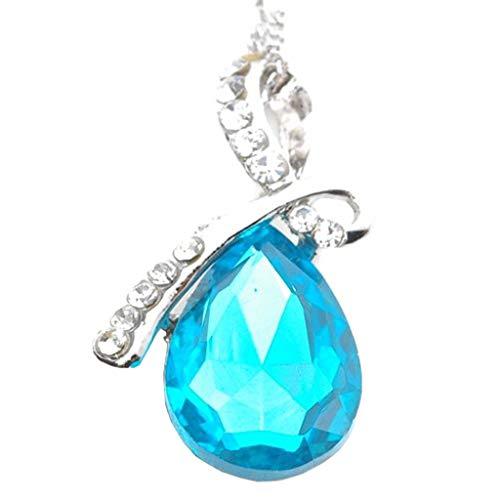 UINGKID Damen Halskette Anhänger Schmuck Mode Charme Silber überzogene -Hohle Elegantes Retro -