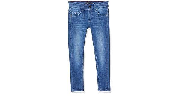 Tommy Hilfiger Simon Skinny Brbst Jeans Gar/çon