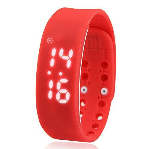 Smartmovement Electronic Wrist Stylish Trend Child Student Lcd Screen Wrist E