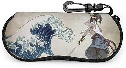 Brillenetui, Naruto Portable Travel Zipper Sonnenbrillenetuis Lesebrillen Tasche Schutz Set