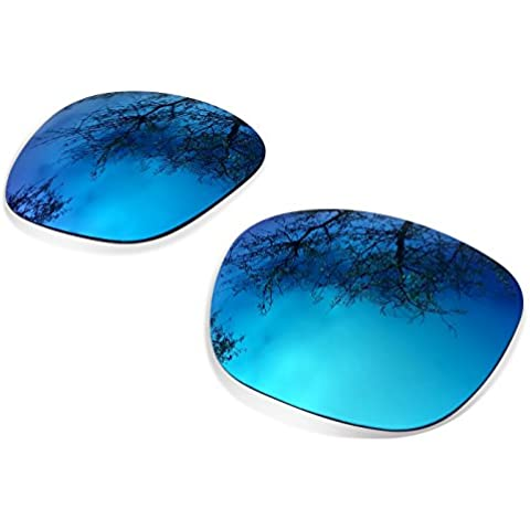 Sunglasses Restorer Lenti Polarizzate Ice Blue di Ricambio per Oakley Big Taco