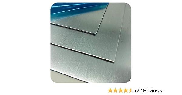 4mm Alublech Aluminiumblech Blechstreifen Aluplatte Zuschnitt auf Maß AluTafel