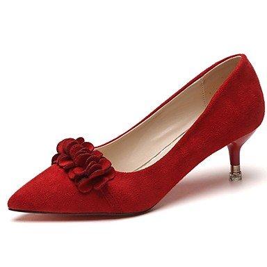 RTRY Donna Pantofole &Amp; Flip-Flops Comfort Estivo Pu Casual Chunky Heelblack Camminata Bianca US6 / EU36 / UK4 / CN36
