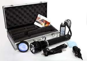 Torcia HID Xenon 8500 Lumens 85 Watt portata fino a 2000 Metri / Autonomia fino a 2,5 Ore