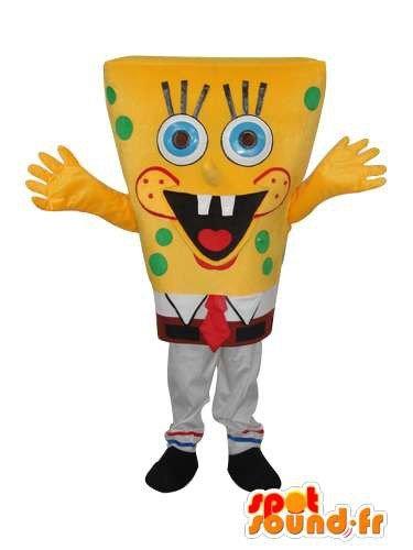 Imagen de mascota spotsound amazon bob esponja personalizable  disfraz de bob de la esponja