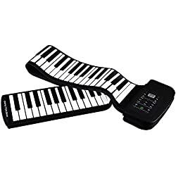 Piano Teclado Enrollable Flexible Roll Up - Ammoon 88 Teclas