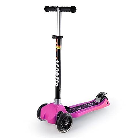 Kinderscooter, YKS faltbare Scooter Roller Tretroller Cityroller Scooter Roller mit