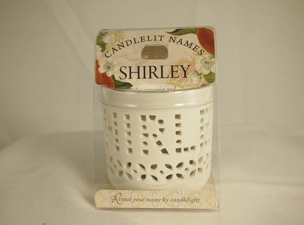 History & Heraldry Candlelit Names - Shirley - Tea Light Lite Candle 001850200-HH by History & Heraldry