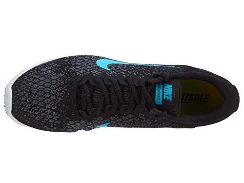 Nike 852461 004 Nike Air Max Sequen, Scarpe stringate uomo Azzuro-Bianco-Nero