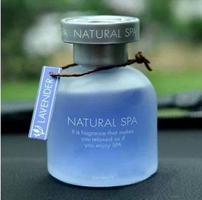 AutoMT Car Mate's Natural SPA Car Dashboard Perfume Air Freshener (Lavender)
