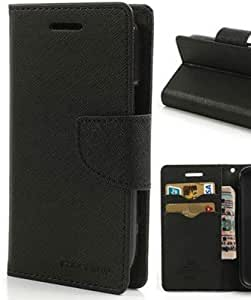 Mercury Flip Wallet Diary Card Case Cover for Xiaomi Redmi 2s-Black