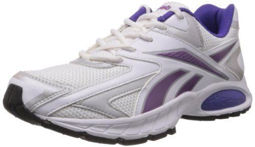 Reebok Women's Reebok Trace Ii Lp White and Action purple Mesh Running Shoes  – 5 UK 41oo2x1BOsL