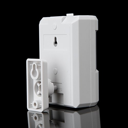 usun nouvelle Porte Chimes Cordless Capteur PIR Détecteur de mouvement infrarouge sans fil sonnette de porte alarme détecteur Entry Start