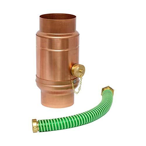 Wassersammler mit Set Kupfer in den Größen 76, 80, 87 und 100 mm (100 mm)