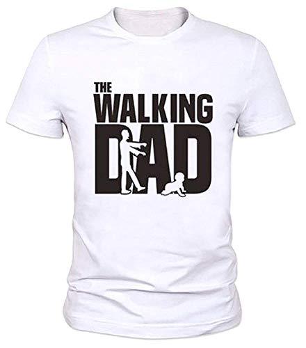 Lovelegis t-shirt - maglia walking dad - maglietta - maniche corte - divertente - ide regalo - uomo - festa del papà - colore bianco - taglia xxl