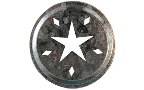 inktem Metall Deckel Einsätze für Mason, Ball, Canning Gläser (10Pack, Regular Mund) ()