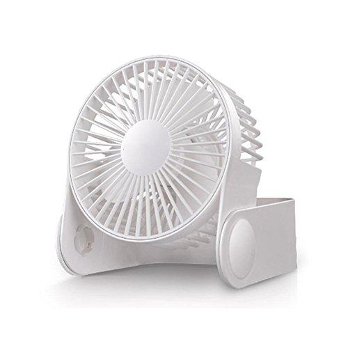 Mini Desktop USB Personal Fan mit Beweglicher Geschwindigkeiten für Indoor und Outdoor Aktivitäten , A