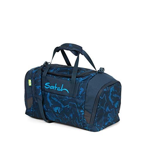 Satch Sporttasche Blue Compass, 25l, Schuhfach, gepolsterte Schultergurte, Blau