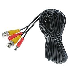 Generic BNC Signal Extension Lead AV Video Power Cable Security CCTV Camera DVR 10M