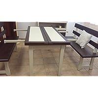 Tavolo in legno massello firmato Bruno mandis