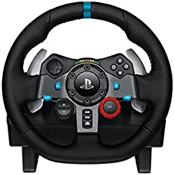 logitech g29 volant de course avec p dalier pour ps3 ps4 pc levier de vitesse driving. Black Bedroom Furniture Sets. Home Design Ideas