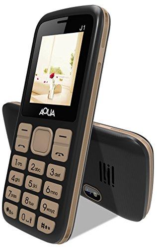 Aqua J1 - Dual SIM Basic Mobile Phone - Gold