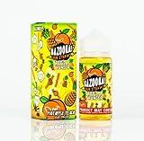 Bazooka Sour Straws 100mL E Liquid E juice Tropical Thunder 0mg (Ananas-Pfirsich)