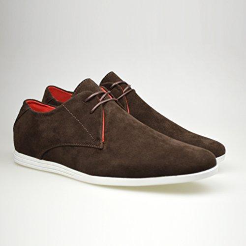 ClassyDude , Chaussures de ville à lacets pour homme Marron