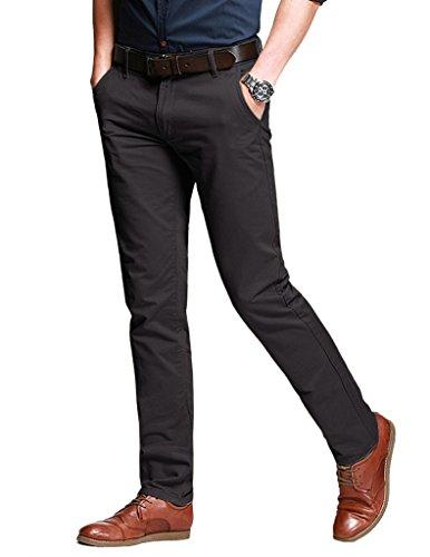 Match Uomo Pantaloni Casual Slim #8025 8025 grigio Army(Army gray)